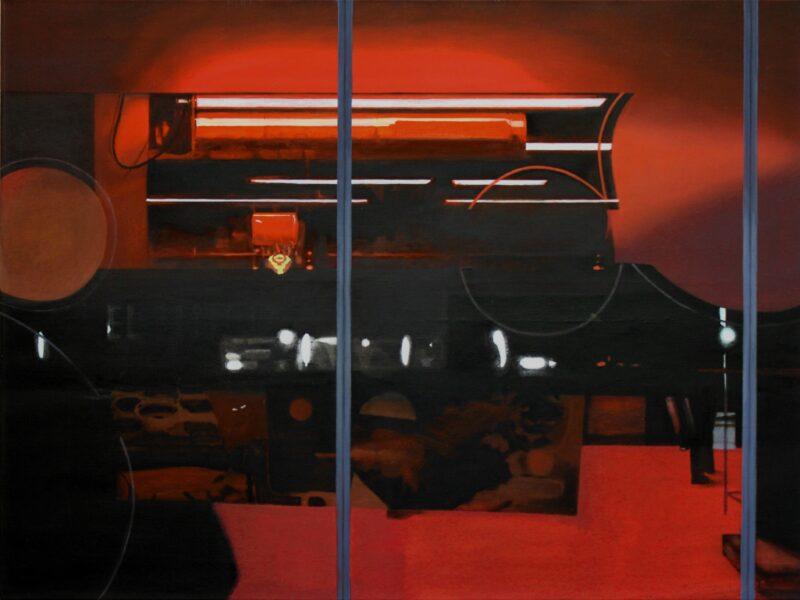 18 Uhr, 2008, Malerei von Andrea Eitel