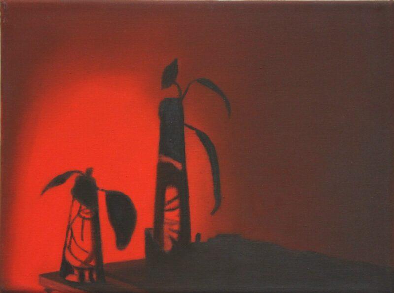 Abendstimmung, 2006, Malerei von Andrea Eitel