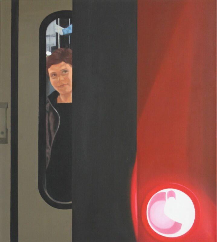 Abschied, 2006, Malerei von Andrea Eitel