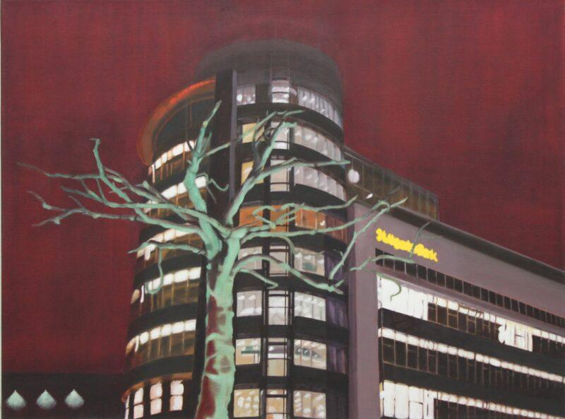 Baum, 2001, Malerei von Andrea Eitel