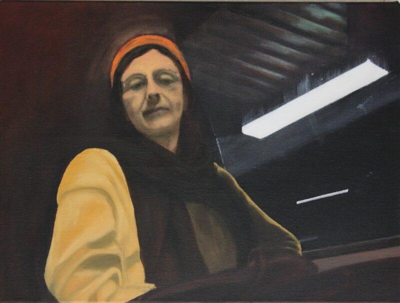 Begegnung, 2014, Malerei von Andrea Eitel