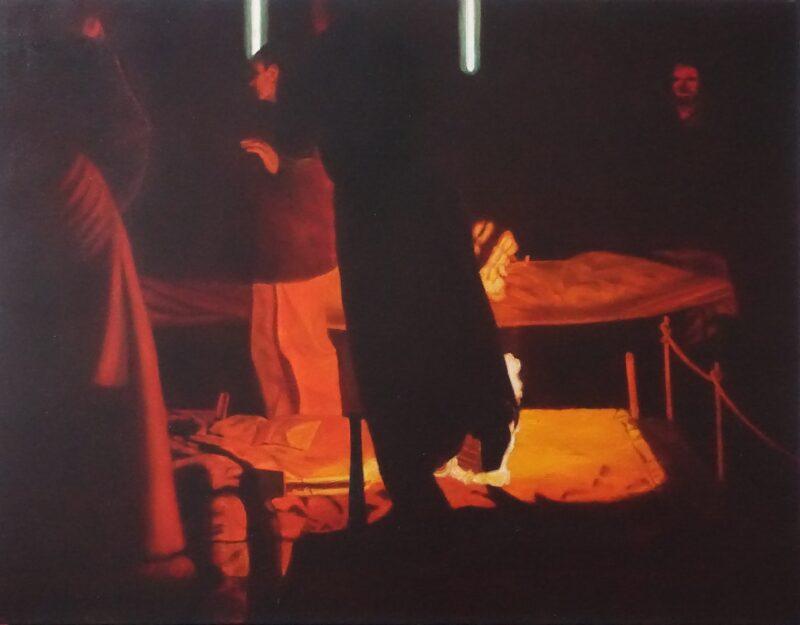 Gießerei 2, 1999, Malerei von Andrea Eitel