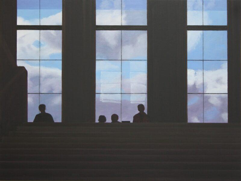 Im Gegenlicht, 2011, Malerei von Andrea Eitel