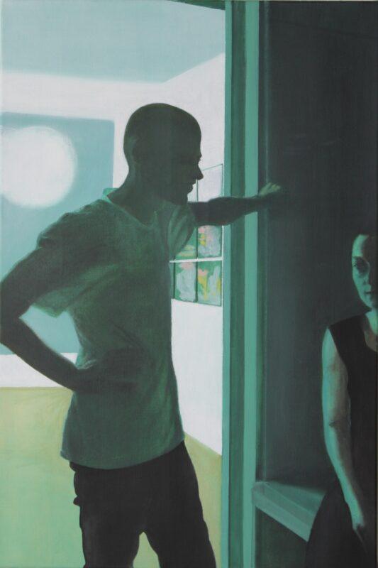 Im Kunstlicht, 2012, Malerei von Andrea Eitel