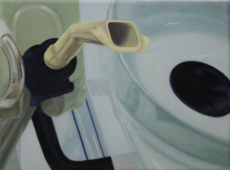 Rüssel, 2005, Malerei von Andrea Eitel