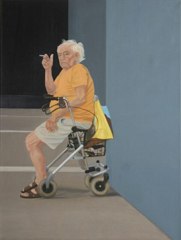 Rast, 2009, Malerei von Andrea Eitel