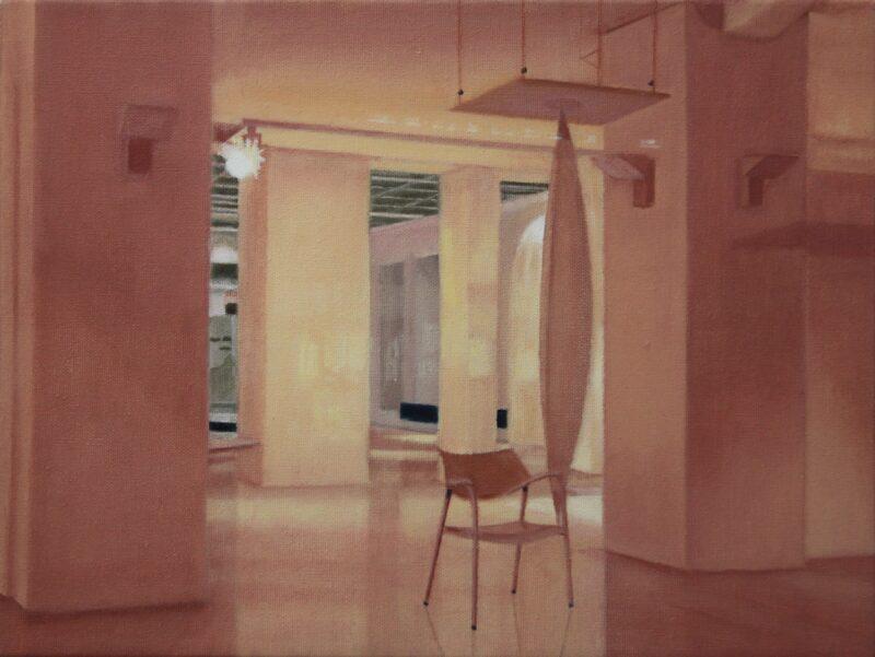 Raum, 2002, Malerei von Andrea Eitel