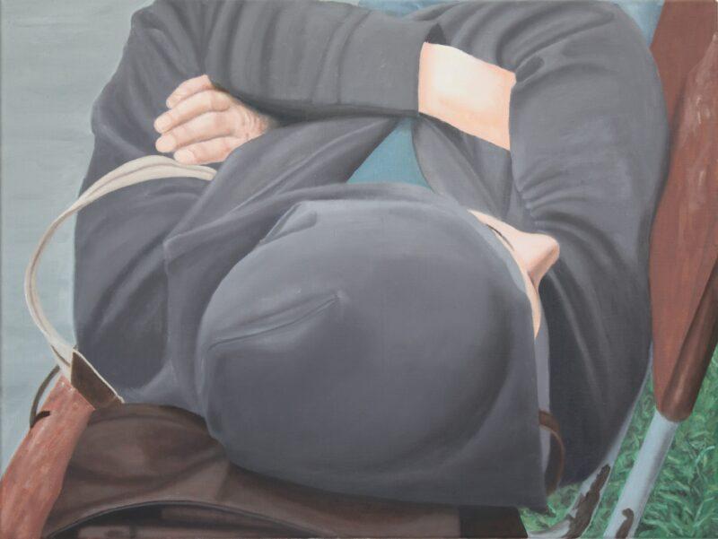Schläfer, 2006, Malerei von Andrea Eitel