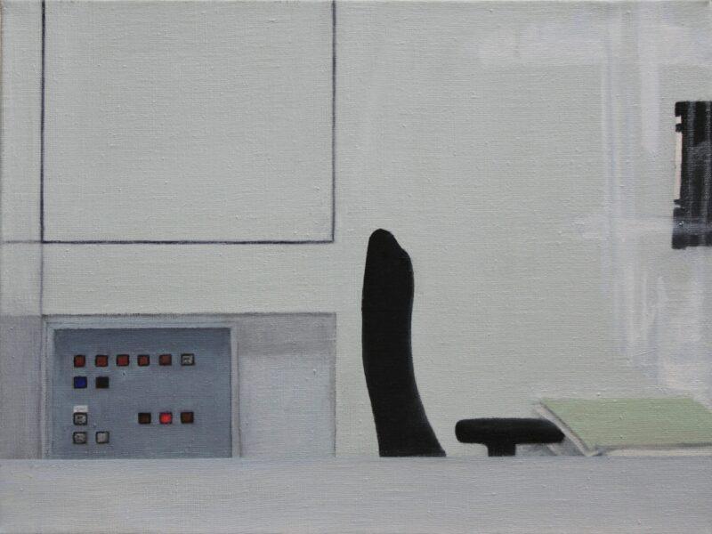 Signal, 2017, Malerei von Andrea Eitel