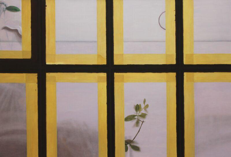 Großes Fenster, 2005, Malerei von Andrea Eitel