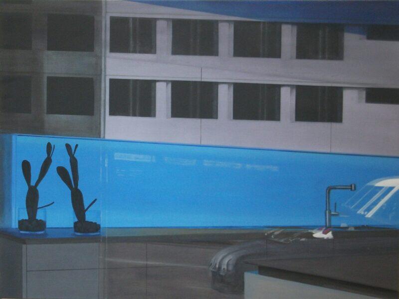Biotop, 2011, Malerei von Andrea Eitel