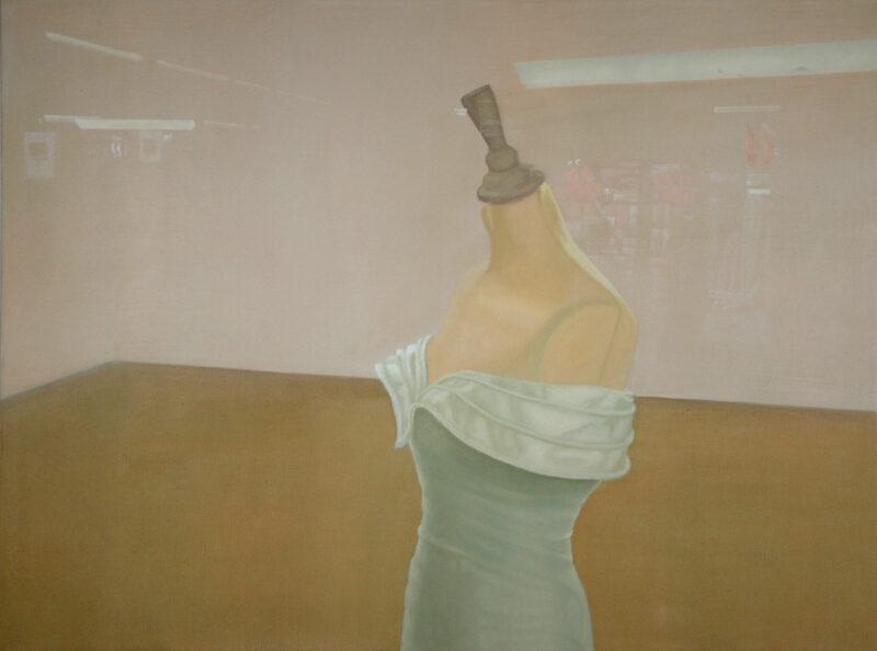 Braut, 2002, Öl auf Leinwand 90 x 120 cm von Andrea Eitel