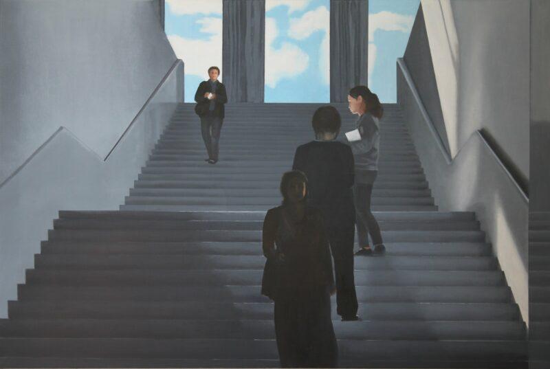 Choreographie, 2011, Malerei von Andrea Eitel