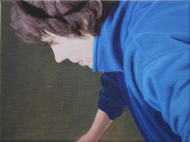 Claudia, 2005, Malerei von Andrea Eitel