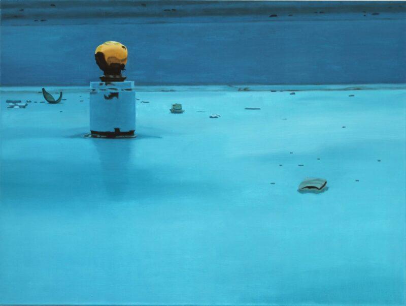 Dämmerung, 2006, Öl auf Leinwand 90 x 120 cm von Andrea Eitel