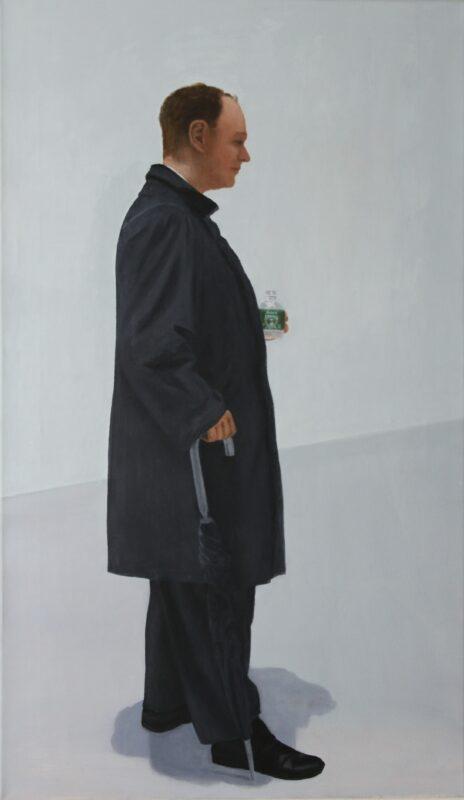 Der Zuhörer, 2008, Malerei von Andrea Eitel