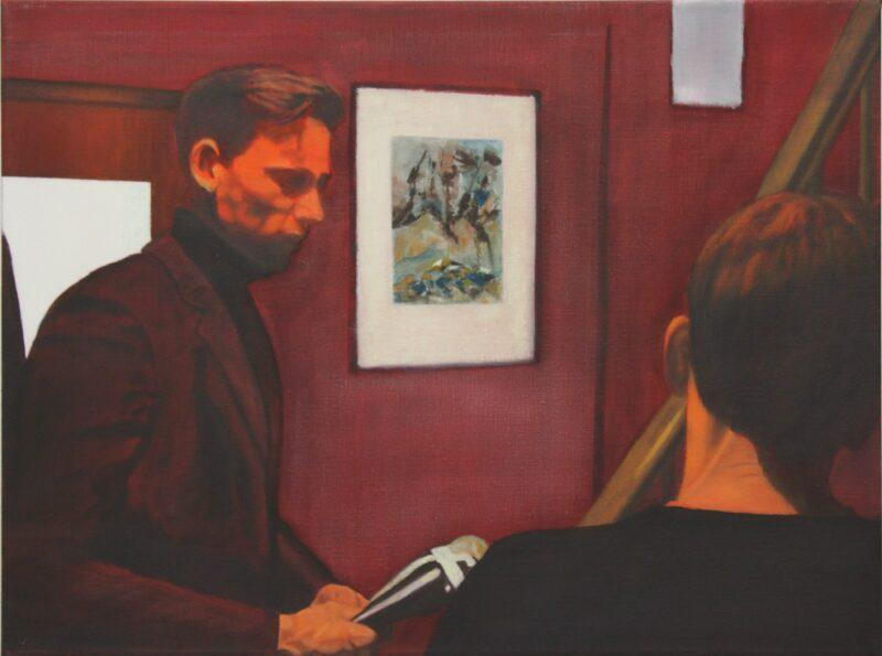Ein Geschenk, 2000, Malerei von Andrea Eitel
