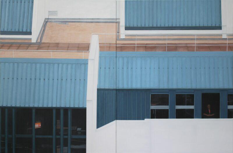 Fassade, 2013,  Malerei von Andrea Eitel