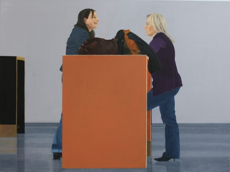 Freundinnen, 2009, Malerei von Andrea Eitel