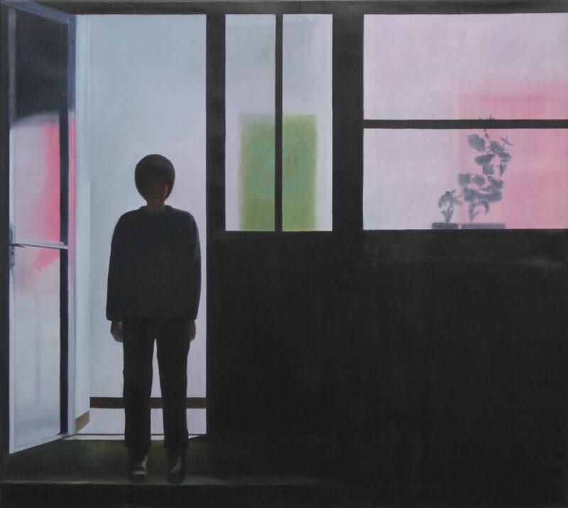 Gegenlicht, 2005, Malerei von Andrea Eitel