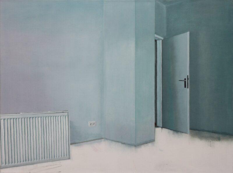 Kalt, 2004, Malerei von Andrea Eitel