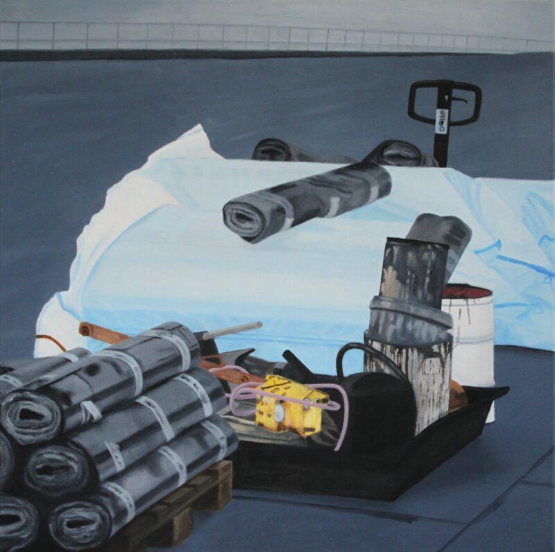 Komposition, 2008, Malerei von Andrea Eitel