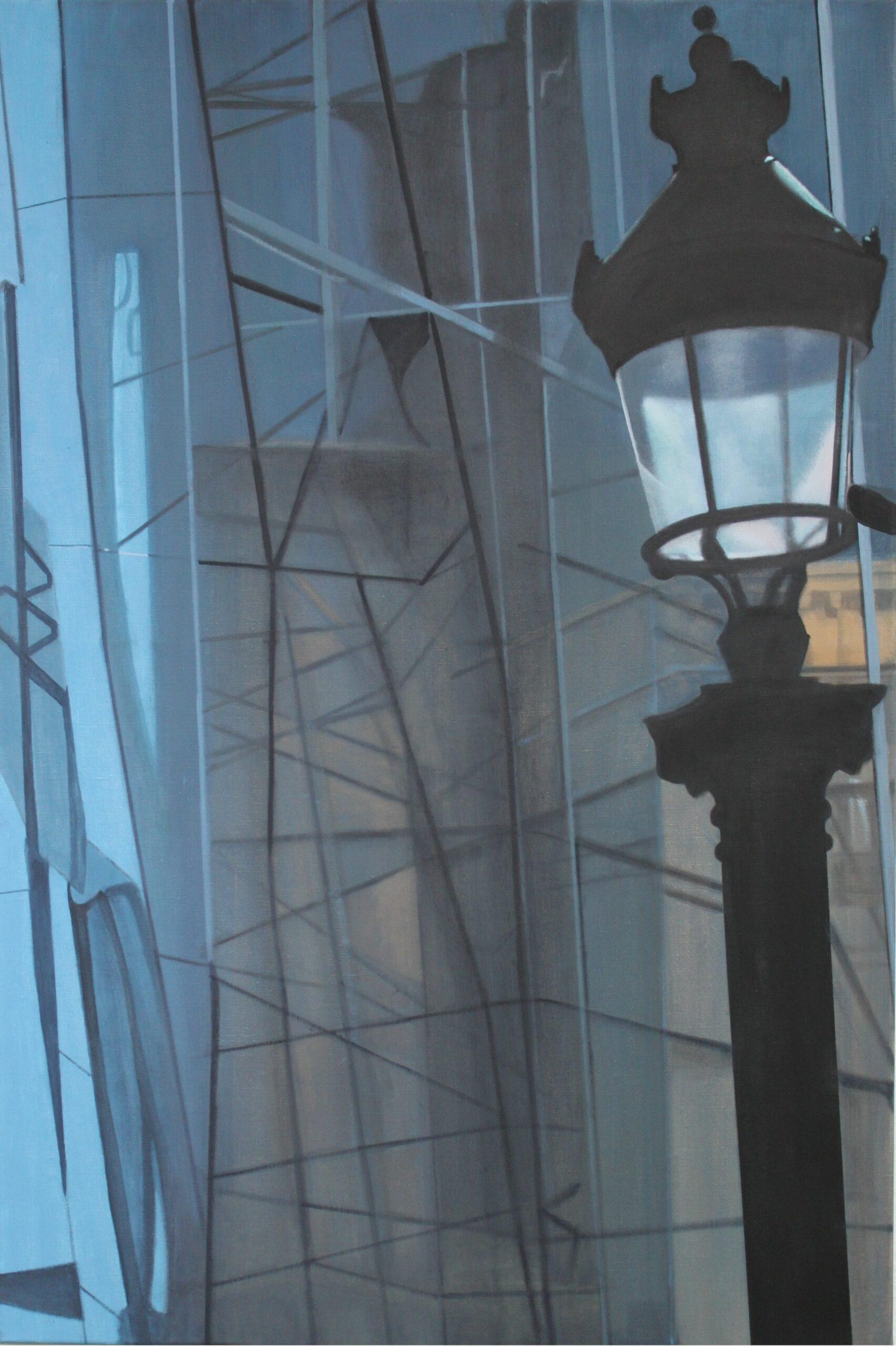 Laterne, 2013, Malerei von Andrea Eitel