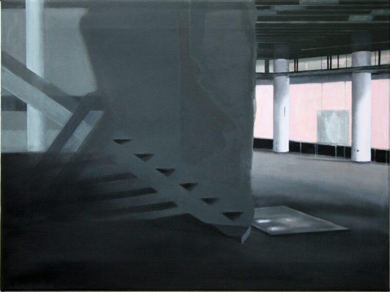 Licht und Schatten, 2014, Malerei von Andrea Eitel
