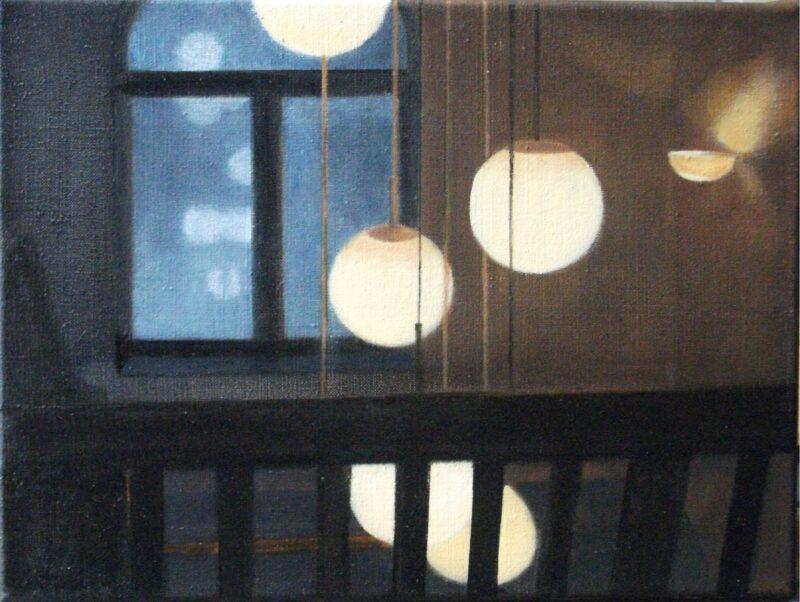 Lichtspiel, 2013, Malerei von Andrea Eitel