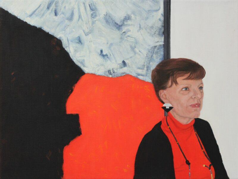 Lu, 2000, Malerei von Andrea Eitel