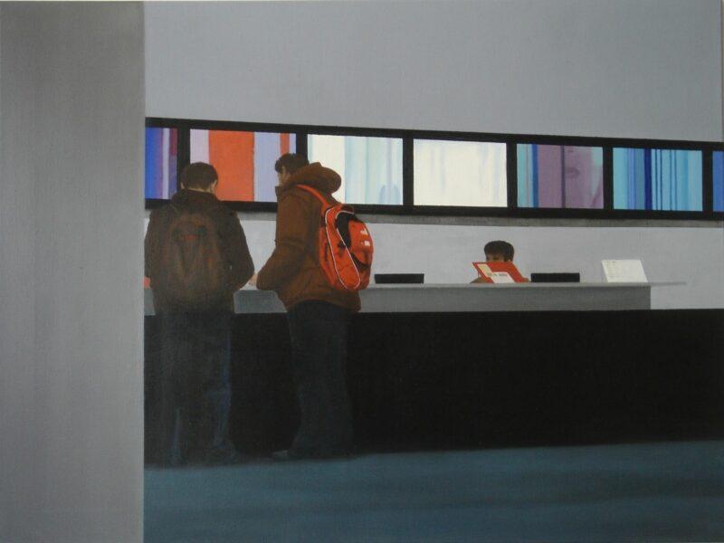 MoMA, 2007, Öl auf Leinwand 90 x 120 cm von Andrea Eitel