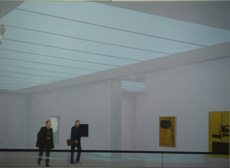 Oberlicht, 2005, Öl auf Leinwand 130 x 180 cm von Andrea Eitel