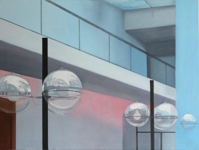 Ohne Titel, 2008, Malerei von Andrea Eitel