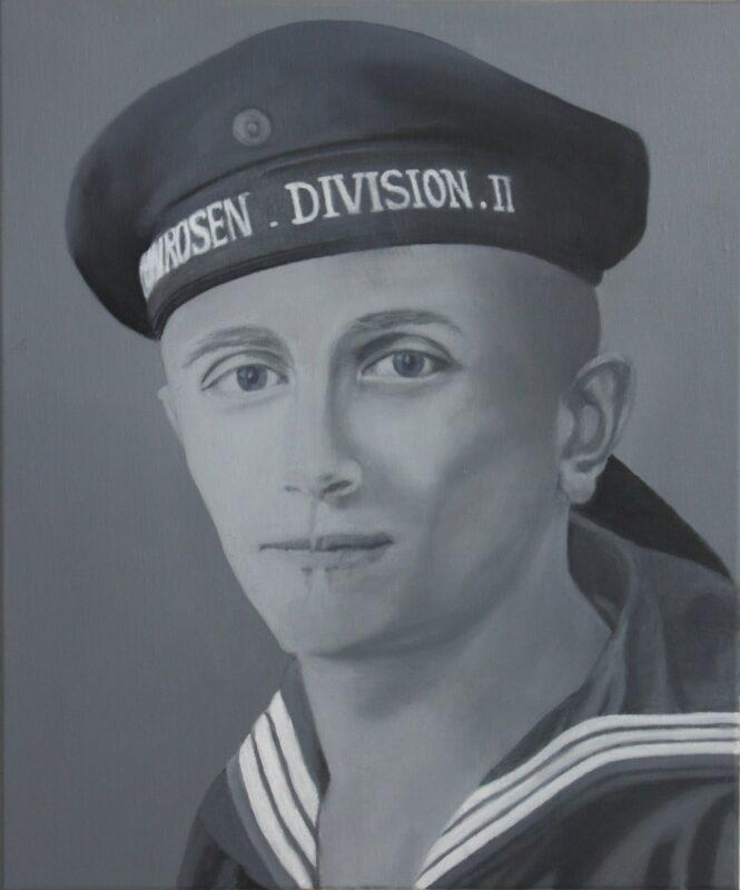 Onkel Otto, 2020, Malerei von Andrea Eitel