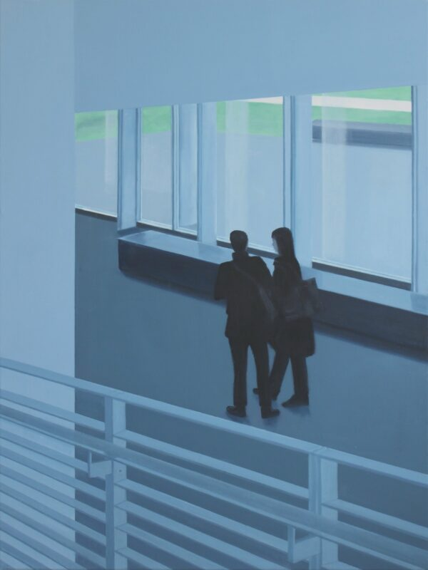 Paar, 2009, Malerei von Andrea Eitel