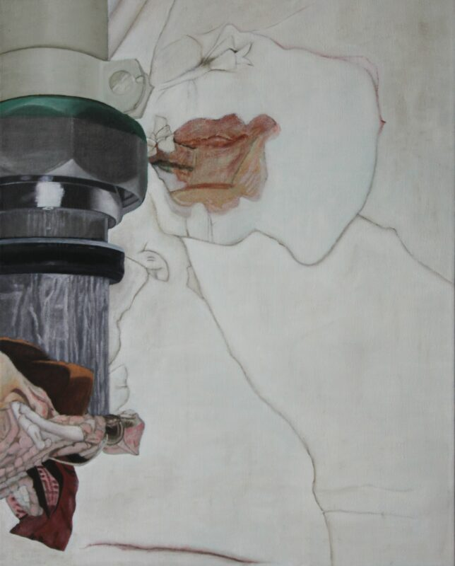 Putz, 2001, Malerei von Andrea Eitel