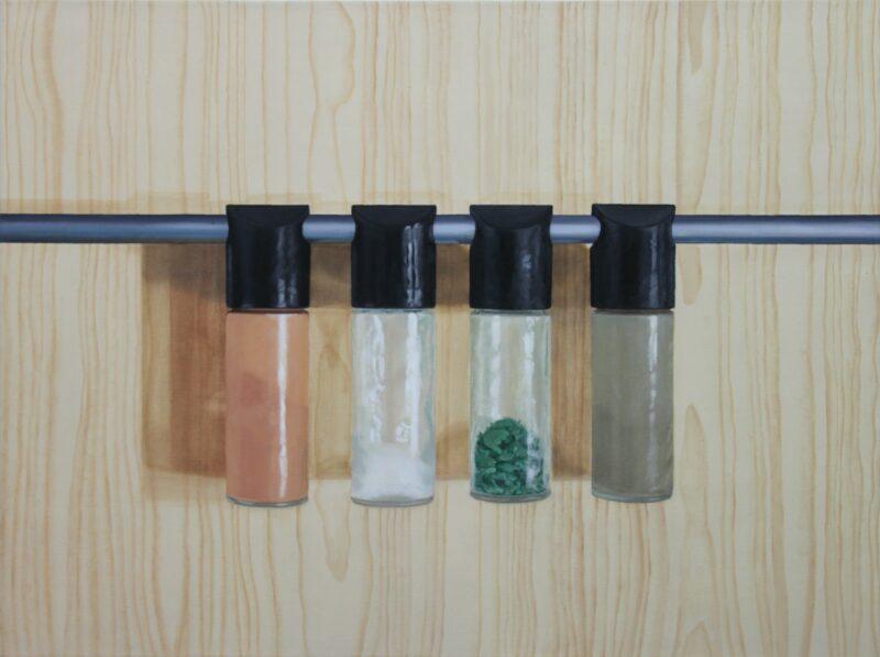 Quartett, 2003, Malerei von Andrea Eitel
