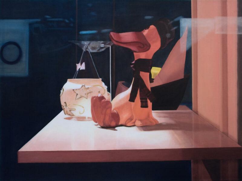 Schaufenster, 2001, Öl auf Leinwand 90 x 120 cm von Andrea Eitel