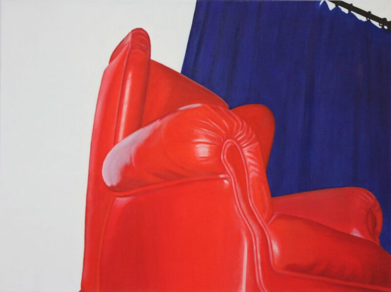 Sessel, 2001, Malerei von Andrea Eitel