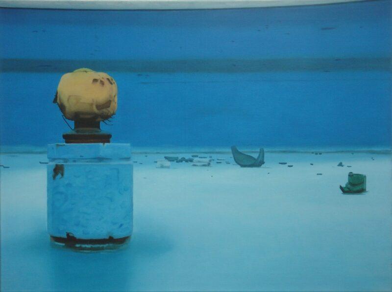 Solo, 2006, Öl auf Leinwand 90 x 120 cm von Andrea Eitel