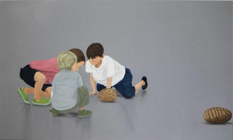 Spiel, 2015, Malerei von Andrea Eitel