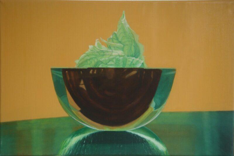 Stillleben 3, 2005, Malerei von Andrea Eitel