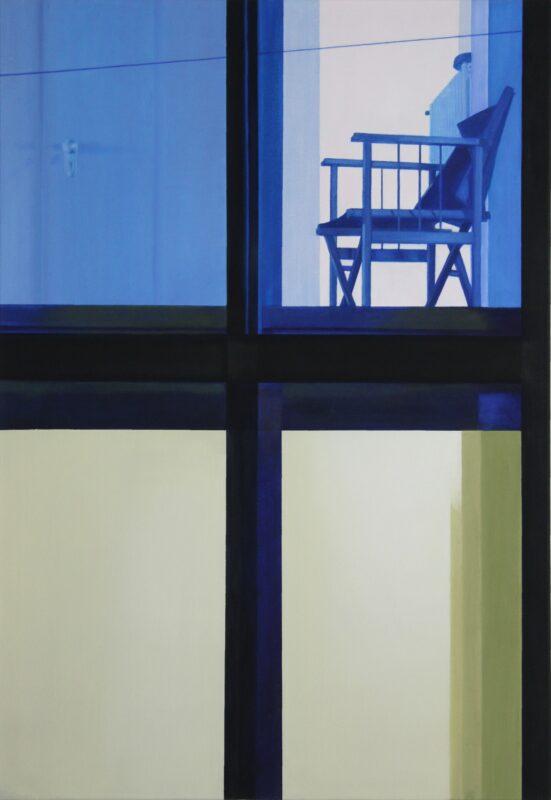 Stuhl, 2002, Malerei von Andrea Eitel