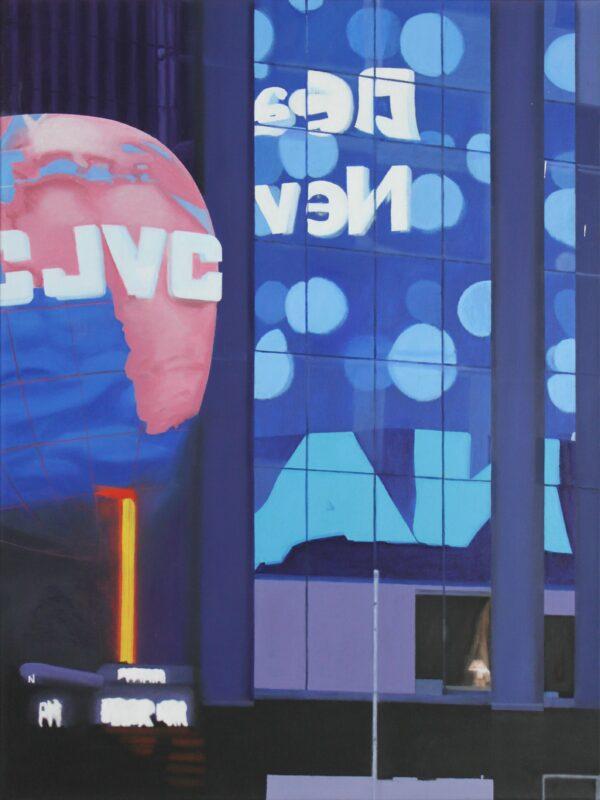 Times Square NY, 2007, Malerei von Andrea Eitel