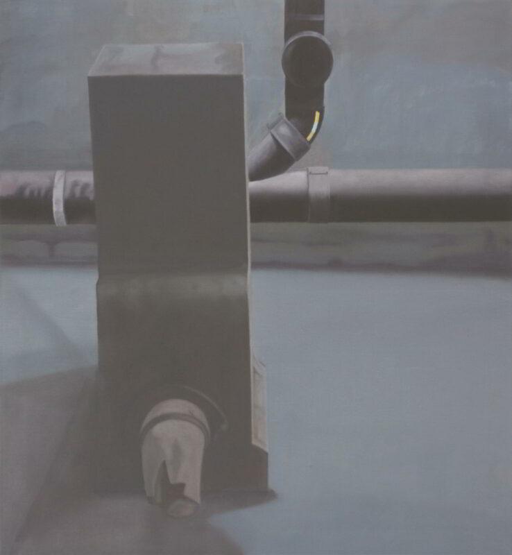 Unbekanntes Objekt, 2006, Malerei von Andrea Eitel