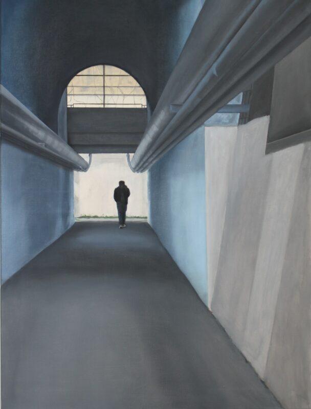 Unterführung, 2012, Malerei von Andrea Eitel
