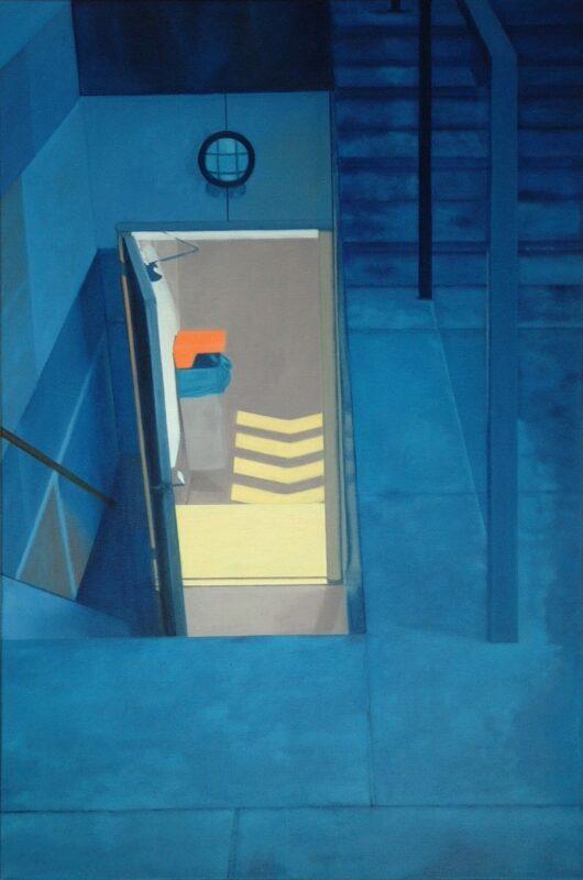 Unterwelt, 2006, Öl auf Leinwand 120 x 80 cm von Andrea Eitel