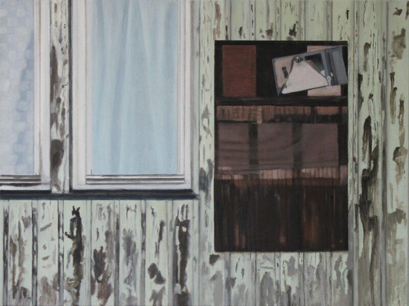 Verlassen, 2009, Malerei von Andrea Eitel
