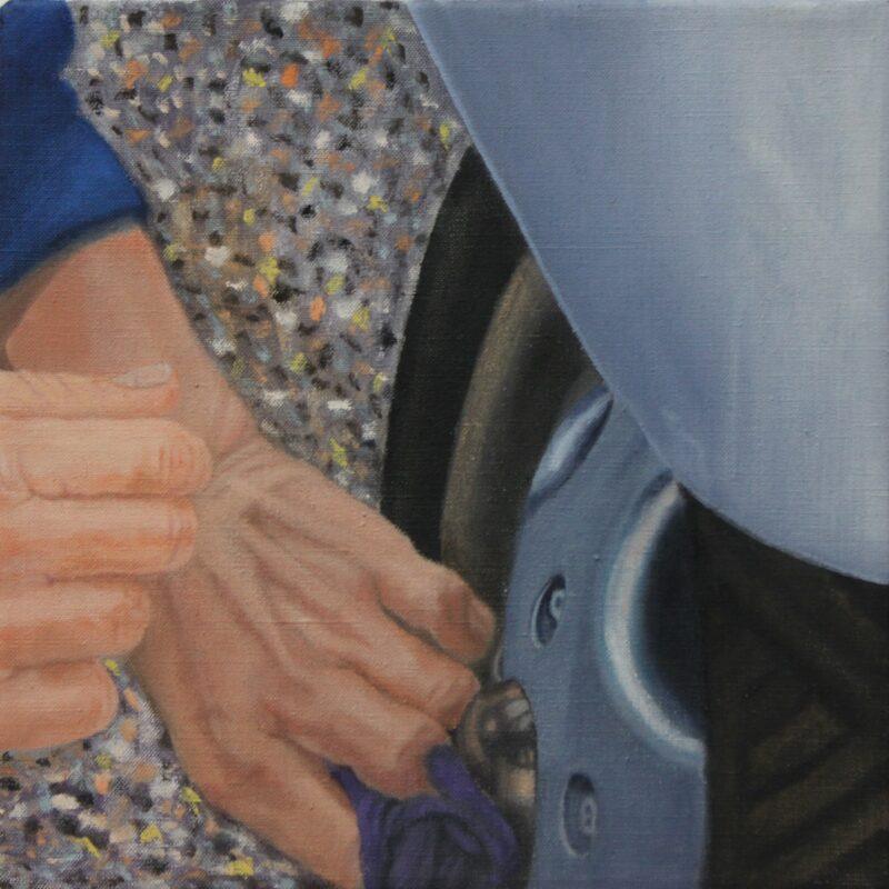 Vespa, 2003, Malerei von Andrea Eitel