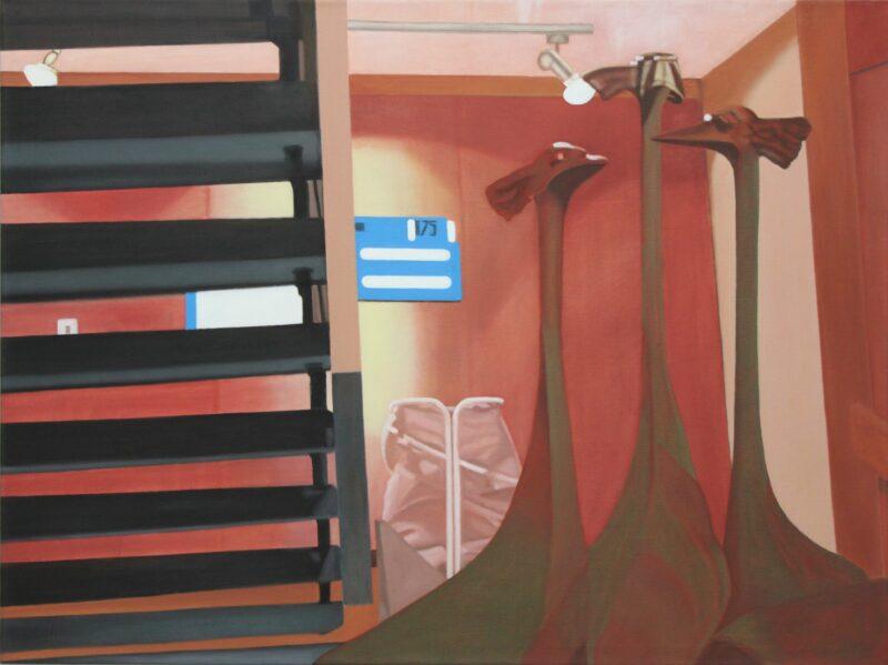 Vögel, 2001, Malerei von Andrea Eitel